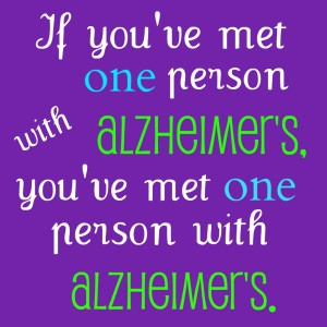 We Are People Who Have Alzheimer's. We Are Not Alzheimer's.