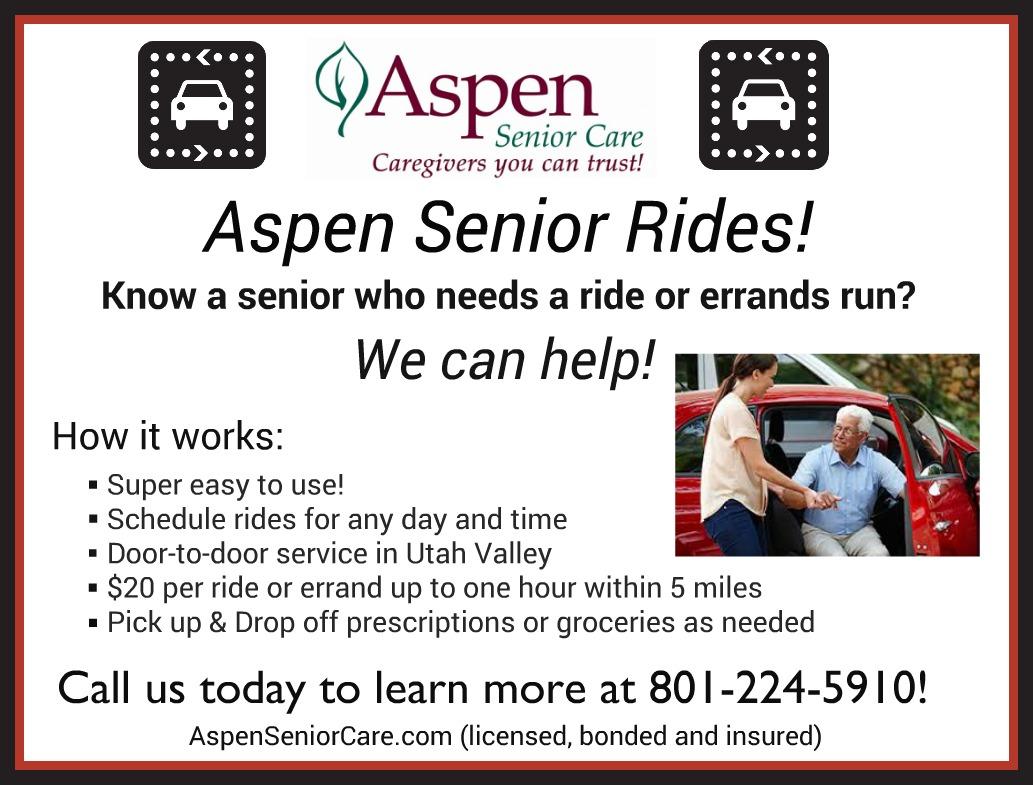 Aspen Senior Rides