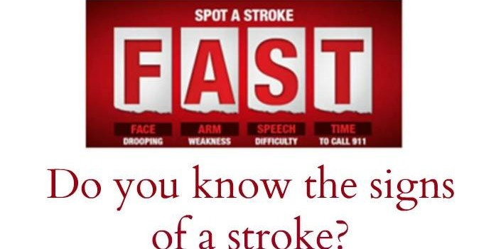 Recognizing stroke signs