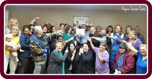 Team Photo-Caregiving takes a team!