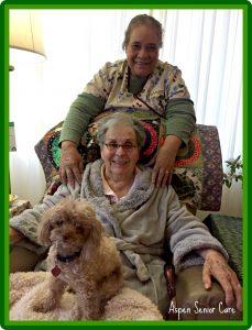 Aspen Senior Care. We love our clients!