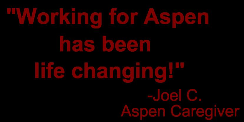 Caregiver Testimonial - Joel