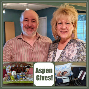 Aspen Gives Miguel and Delia Maria
