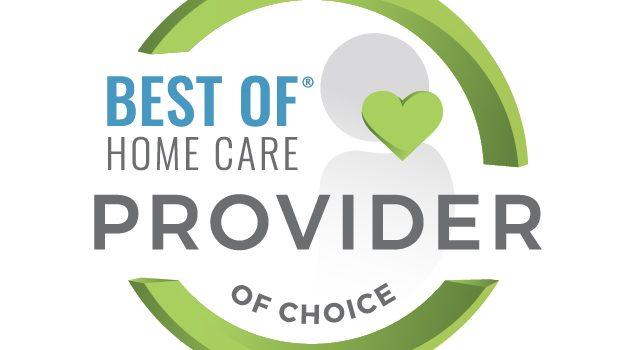 Provider of Choice 2021 | Aspen Senior Care | Award-Winning Team