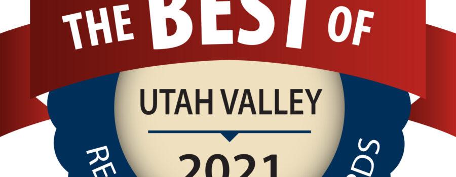 Best Of Utah Valley 2021 Badge | Aspen Senior Care